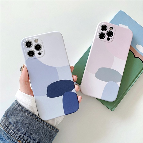 matte geometric illustration 12mini11Pro mobile phone case for iphone8pse2xrxs NHFI294327's discount tags