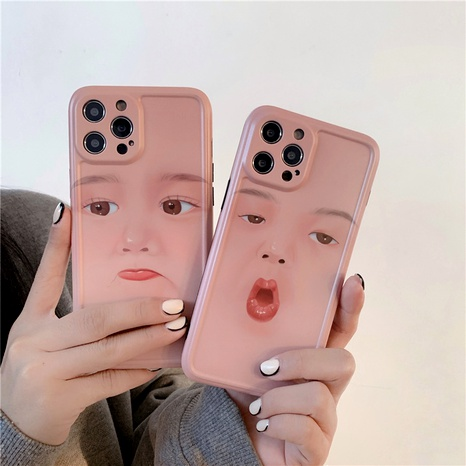 couple expression 12mini11pro mobile phone case for iphone8plusse2XRXS NHFI294360's discount tags