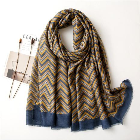 fashion cotton linen silk scarf  NHGD294412's discount tags