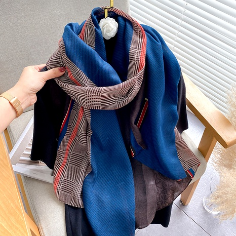 long cotton and linen fashion scarf NHCJ294428's discount tags