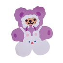 cute bear creative cartoon message card NHZE294477