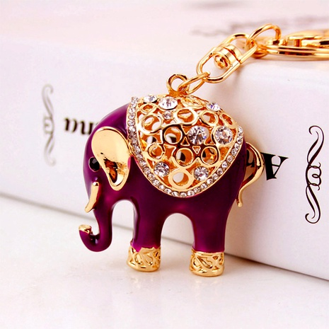 Dripping Craft Elephant Keychain  NHAK294520's discount tags