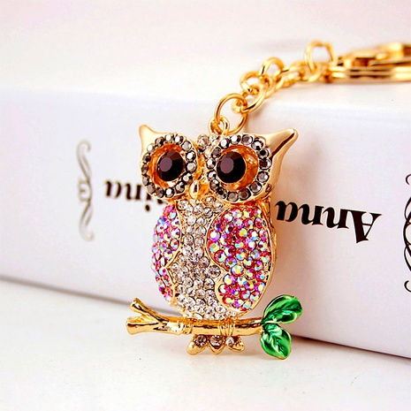 Colorful Owl Car Keychain NHAK294522's discount tags