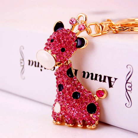fashion Giraffe Keychain NHAK294532's discount tags