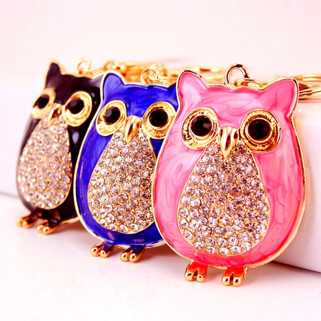 Dripping Owl Car Keychain NHAK294540's discount tags