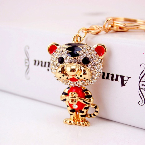 Little Tiger Keychain  NHAK294543's discount tags