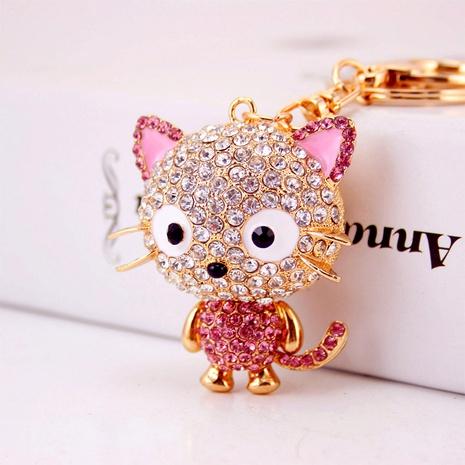creative cute cartoon crystal little mouse car keychain NHAK294548's discount tags