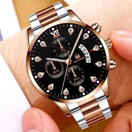 diamond quartz watch  NHHK294611's discount tags