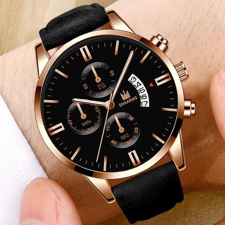 reloj de cuarzo con calendario de cinturón NHHK294613's discount tags