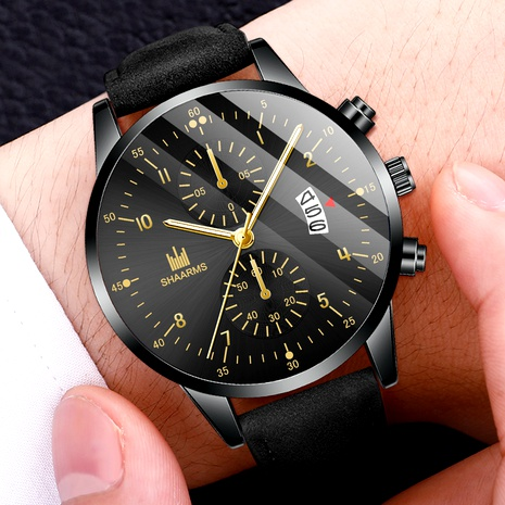 reloj de cuarzo con calendario de cinturón NHHK294614's discount tags