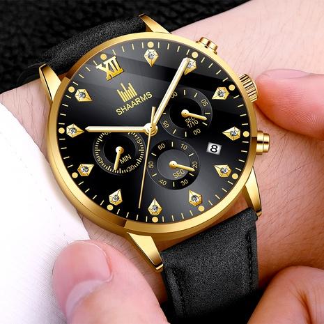reloj de cuarzo con calendario de diamantes NHHK294620's discount tags