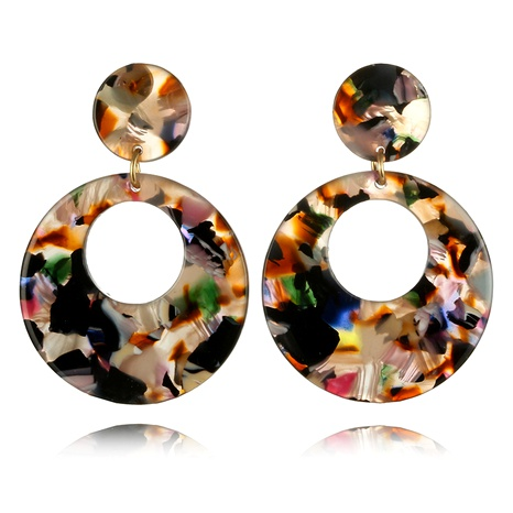 new creative round acrylic earrings  NHGY295227's discount tags