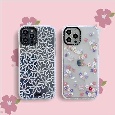 Flower Apple 12/Pro mobile phone case for iphone11xsmax anti-drop soft shell 78plusXR NHFI294257's discount tags