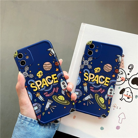 Creative space for iPhone11 mobile phone case Apple 8plus silicone Promax7plusXRSE2 NHFI294333's discount tags