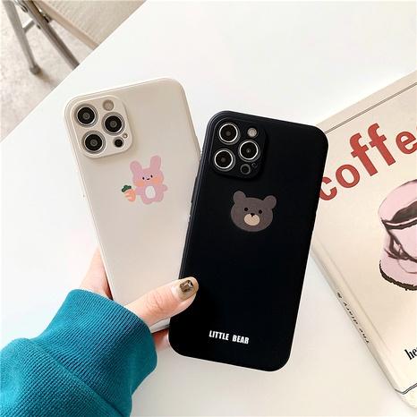 cute cartoon bear 12mini/11pro liquid phone case for Apple XR8PLUSse2x NHFI294325's discount tags