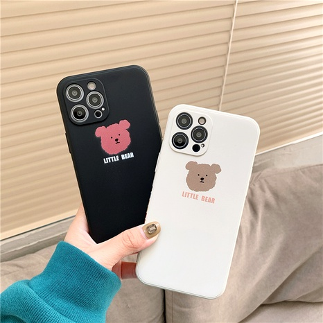 cute cartoon bear 12mini11pro liquid phone case for Apple XR8PLUSse2x NHFI294324's discount tags