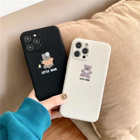 cute cartoon bear 12mini11pro liquid phone case for Apple XR8PLUSse2x NHFI294323's discount tags