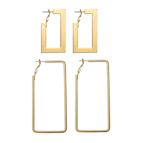 exaggerated geometric earrings NHGY295230's discount tags