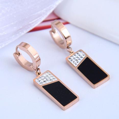 Korean fashion titanium steel earrings  NHSC295261's discount tags