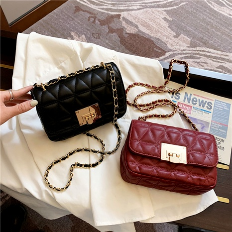 new trend Korean fashion small square bag NHLH294664's discount tags