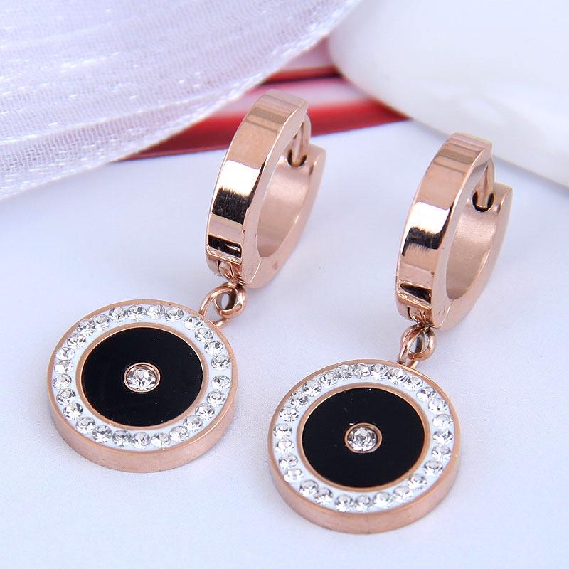 Korean fashion titanium steel earrings NHSC295204
