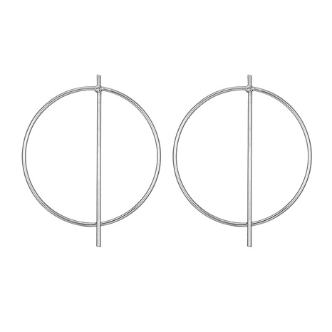 circle geometric earrings NHGY295202's discount tags