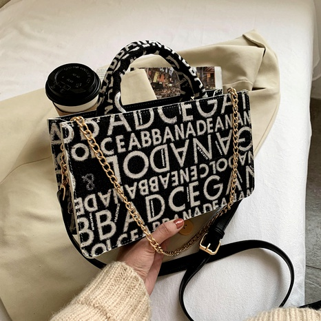 new trendy texture portable square bag NHJZ294699's discount tags
