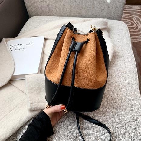 fashion one-shoulder messenger bucket bag NHJZ294700's discount tags
