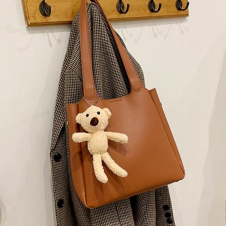 fashion large-capacity bear tote bag NHJZ294701's discount tags