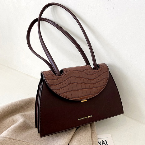 Simple fashion new retro frosted shoulder bag NHJZ294707's discount tags