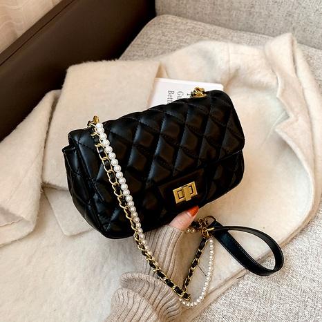 new trendy golden bead bag  NHJZ294712's discount tags