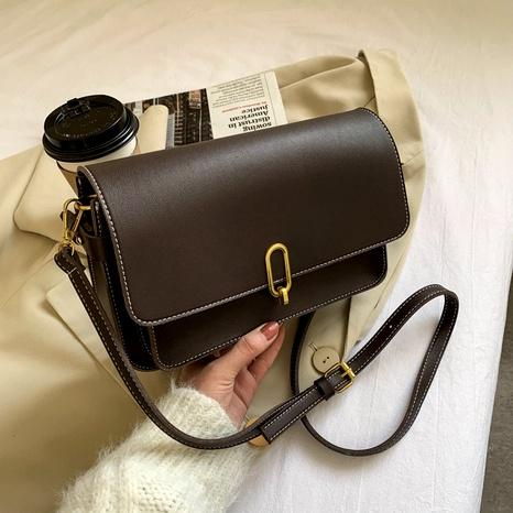 fashion new trendy one-shoulder messenger retro messenger bag NHJZ294715's discount tags
