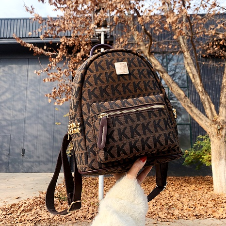 fashion new retro small casual backpack NHJZ294717's discount tags