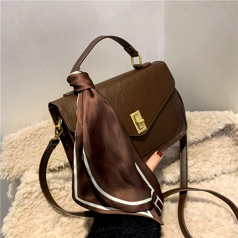 new fashion trendy soft leather single shoulder messenger bag NHJZ294725's discount tags