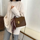new fashion trendy soft leather single shoulder messenger bag NHJZ294725