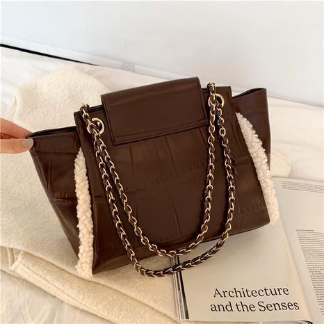 new trendy fashion high texture single shoulder messenger bag NHJZ294729's discount tags