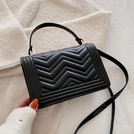 Korean fashion small square bag NHRU294899's discount tags