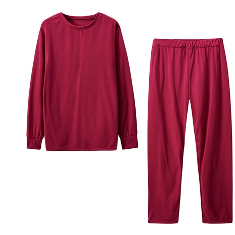 sexy solid color long-sleeved trousers sports suit NHKO296264's discount tags