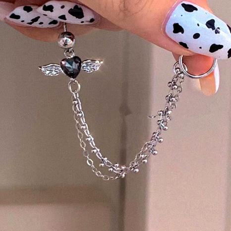wings gemstone chain earrings NHYQ295019's discount tags