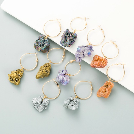 fashion crystal earrings NHLN295104's discount tags