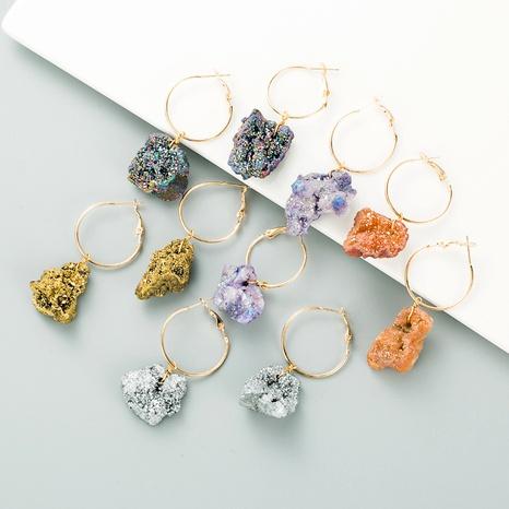 pendientes de cristal de moda NHLN295104's discount tags