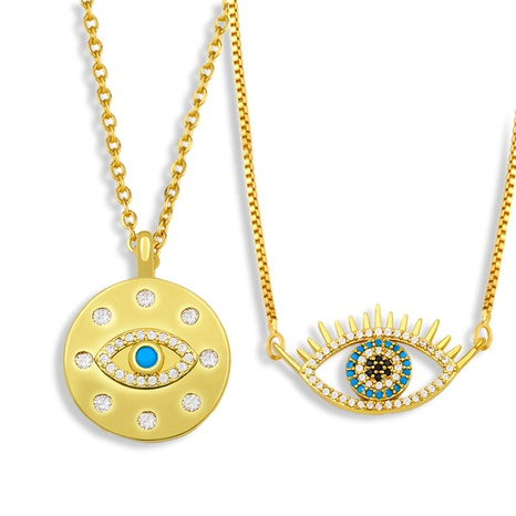 classic devil eye pendant necklace  NHAS295115's discount tags