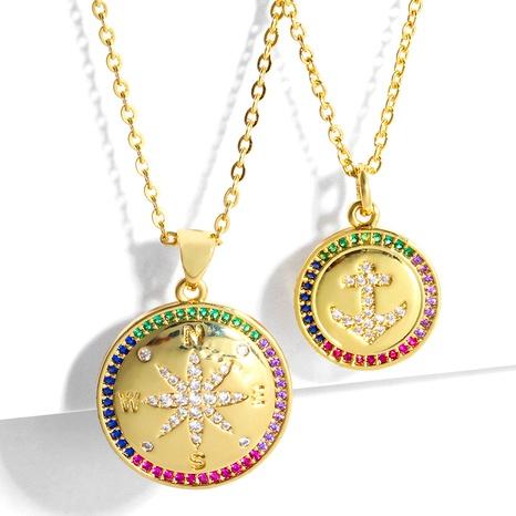 kreative vergoldete Schlüsselbein kurze Halskette NHAS295134's discount tags