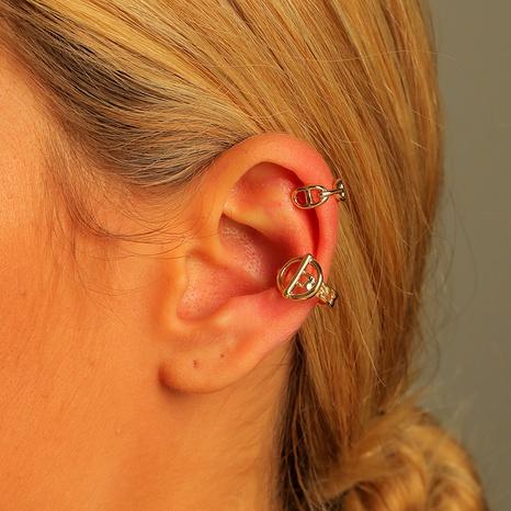 wholesale brass adjustable ear clip 2-piece set NHLU295362's discount tags
