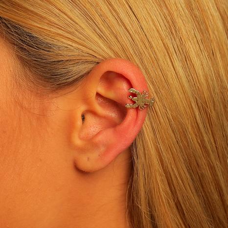wholesale brass adjustable scorpion ear clip  NHLU295367's discount tags