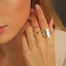 fashion alloy rings 3piece set NHLU295369