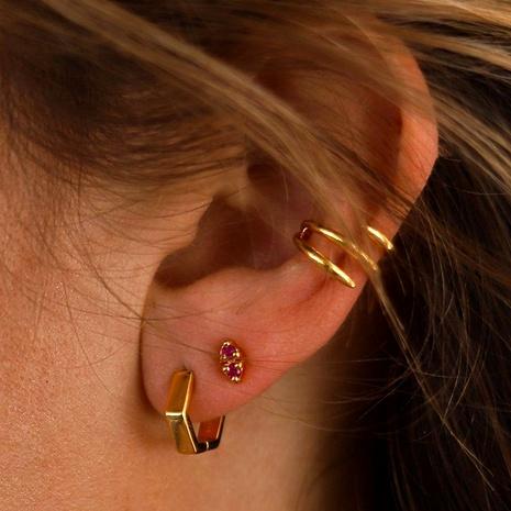 simple ear clip 3-piece set NHLU295377's discount tags