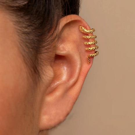 alloy snake ear clip  NHLU295385's discount tags
