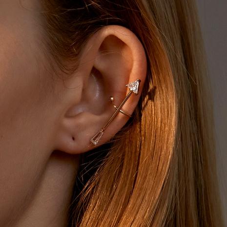 zircon arrow ear clip  NHDP295443's discount tags