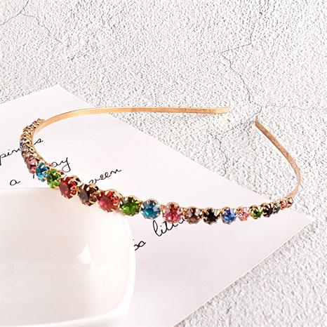 diadema con diamantes de color de aleación retro NHAQ295504's discount tags